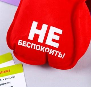 Надувной подголовник для сна «Не беспокоить!» купить в Минске +375447651009