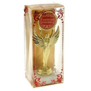 Награда - Ника 'Дорогой бабушке' на белом камне Минск