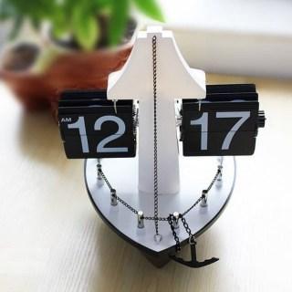 Дизайнерские перекидные часы «Корабль» Минск +375447651009