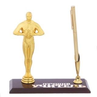 Настольный органайзер с наградой «Лучший учитель» купить в Минске +375447651009