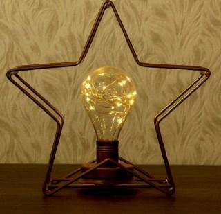 Настольный светильник в стиле лофт «Звезда» купить в Минске +375447651009