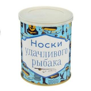Носки в банке «Удачливого рыбака» купить Минск +375447651009