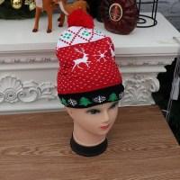 Новогодняя шапка с подсветкой «Олени» купить в Минске +375447651009