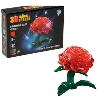 Объемный 3D пазл «Роза» 22 детали Vbycr