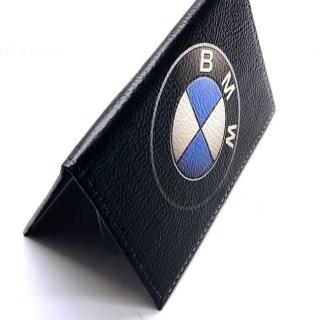 Обложка для автодокументов «BMW» натуральная кожа Минск +375447651009