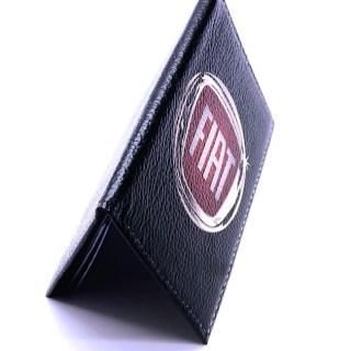 Обложка для автодокументов «FIAT» натуральная кожа Минск +375447651009