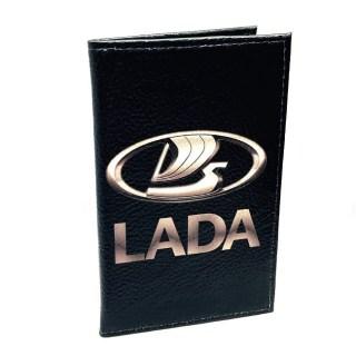 Обложка для автодокументов «LADA» натуральная кожа Минск +375447651009