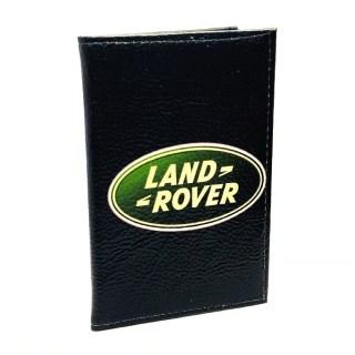 Обложка для автодокументов «LAND ROVER» натуральная кожа Минск +375447651009