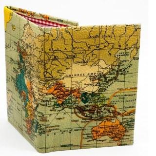 Обложка для документов 2 в 1 «Карта мира» купить Минск