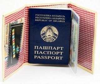 Обложка для документов 2 в 1 «Лисичка» купить Минск