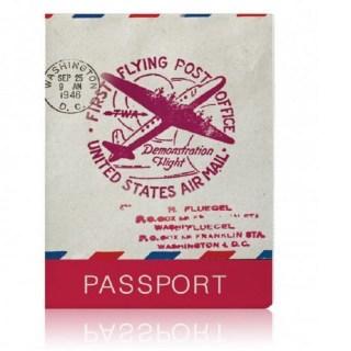 Обложка для паспорта «Flying post» купить в Минске +375447651009