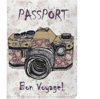 Обложка для паспорта «Фотоаппарат» купить в Минске +375447651009
