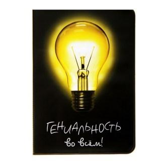 Обложка для паспорта «Гениальность» купить в Минске +375447651009
