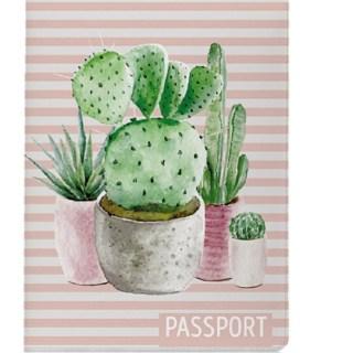 Обложка для паспорта «Кактусы» купить в Минске +375447651009