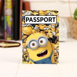 Обложка для паспорта «Миньоны» купить в Минске +375447651009