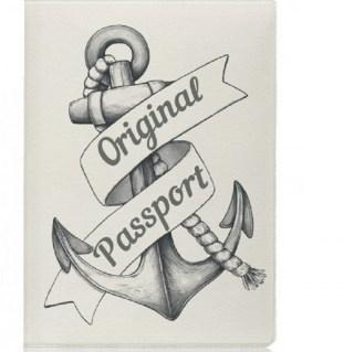 Обложка для паспорта «Якорь» купить в Минске +375447651009