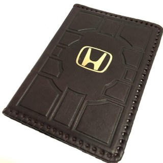 Обложка на автодокументы «Honda» кожаная купить в Минске +375447651009