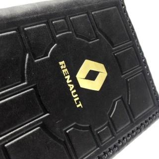 Обложка на автодокументы «Renault» кожаная Минск +3754447651009