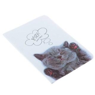 обложка на паспорт пушистый котик купить