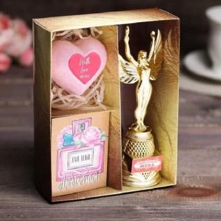 Подарочный набор «Самая лучшая жена»: награда Ника, диплом, бурлящий шар купить в Минске +375447651009