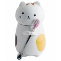 Кружка Кот с ложкой вид №4 купить