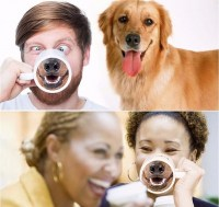 Оригинальная кружка «Собака улыбака» Минск +375447651009