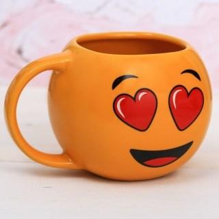 Оригинальная круОригинальная кружка «Влюбленный смайлик» купить в Минске +375447651009
