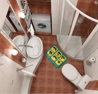 Оригинальный коврик для туалета 'Как вести себя' Минск +375447651009