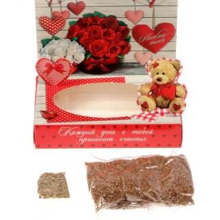 Открытка-растущая трава «Для тебя» купить в Минске +375447651009