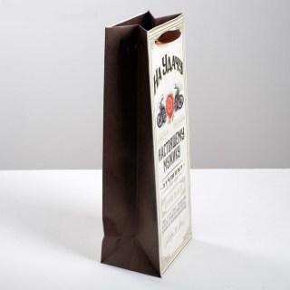 Пакет для бутылки крафт «На удачу» купить в Минске +375447651009