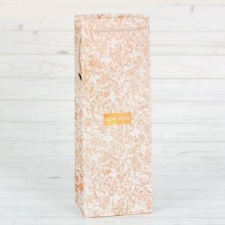 Пакет для бутылки крафт «От души» купить в Минске +375447651009