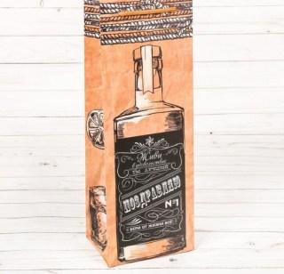 Пакет для бутылки «Живи в удовольствие» купить в Минске +375447651009