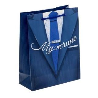 Пакет подарочный «Лучшему мужчине» купить