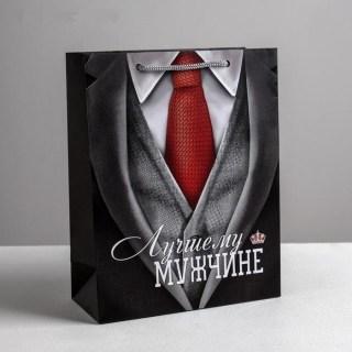 Пакет подарочный «Деловой» 18 × 23 × 8 см купить в Минске +375447651009