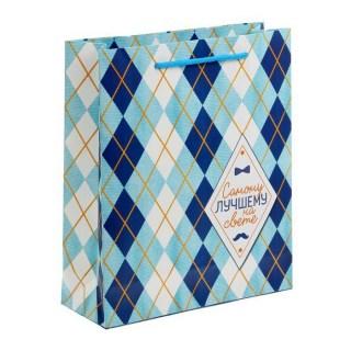 пакет подарочный самому лучшему на свете купить