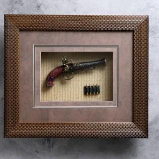 Панно сувенирное «Пистолет и пули» Минск +375447651009