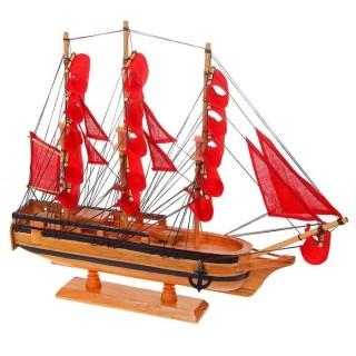 парусник декоративный корабль удачи алые паруса купить