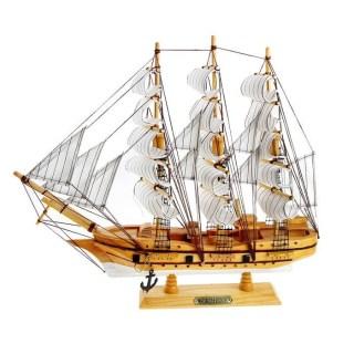 Парусник декоративный «Корабль надежды» белые паруса купить в Минске +375447651009