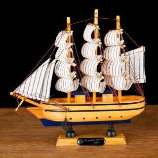 Парусник декоративный трехмачтовый «Santa Anna» купить в Минске +375447651009