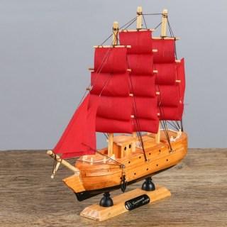 Парусник декоративный трехмачтовый «Santa Helena» купить в Минске +375447651009