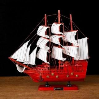 Парусник декоративный трехмачтовый «Santa Monica»  купить в Минске +375447651009