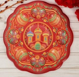 Пасхальная подставка для кулича и яиц купить в Минске +375447651009