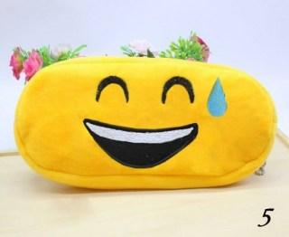 Пенал-косметичка Смайлик Тапочки Emoji «Радость до холодного пота» Минск +375447651009