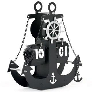 Дизайнерские перекидные часы «Якорь» Минск +375447651009