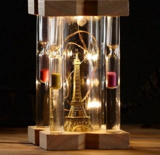 Песочные часы «Эйфелева башня» с подсветкой купить в Минске +375447651009