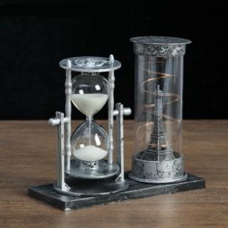 Песочные часы «Париж» с подсветкой цвет: микс купить в Минске +375447651009