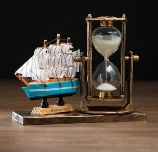 Песочные часы «Парусник» цвет: микс купить в Минске +375447651009