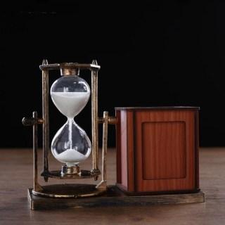 Песочные часы с карандашницей и рамкой «Нежность» купить в Минске +375447651009