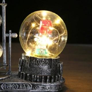 Песочные часы с подсветкой «Мишка с цветком» цвет:микс  купить в Минске +375447651009