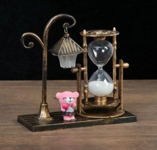 Песочные часы с подсветкой «Ночь в городе» микс купить в Минске +375447651009